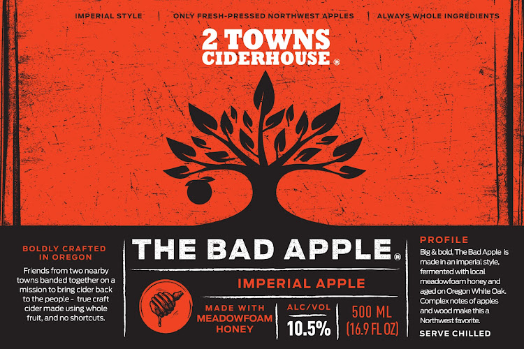 Logo of 2 Towns Ciderhouse - The Bad Apple