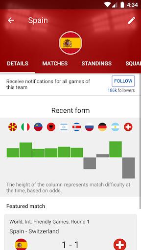 SofaScore: Soccer Scores, Stats & Live Sports App 5.82.9 Screenshots 6