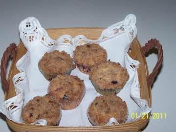 Mary's Blueberry Cream Muffins