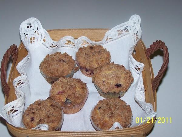 Mary's Blueberry Cream Muffins Recipe