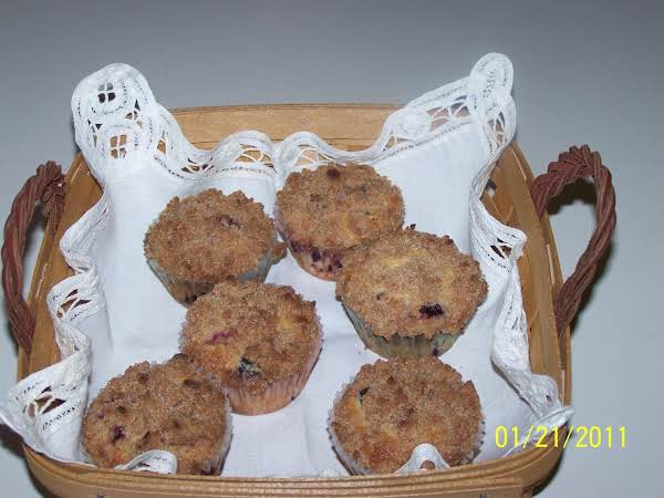 Mary's Blueberry Cream Muffins Recipe