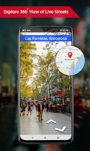 Offline maps with Street View : GPS Route Tracker 1.0.15 screenshots 5