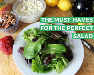 The Must-haves For The Perfect Salad Recipe