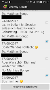 SMS Recovery Pro - náhled