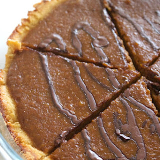 Paleo Chocolate Pumpkin Pie