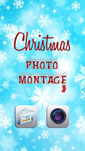 聖誕照片蒙太奇