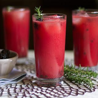 Watermelon Blackberry Lemonade