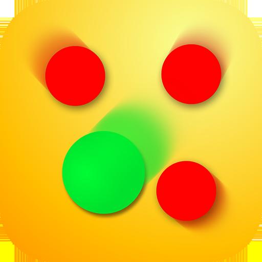圈的冲突 - 坏蛋然後行动游戏 棋類遊戲 App LOGO-APP試玩