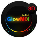 Next Launcher Theme GlowMix Icon