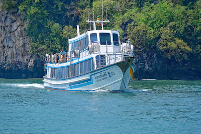 Travel from Koh Phi Phi to Railay Beach by ferry