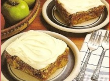 Washington Apple Cake Recipe