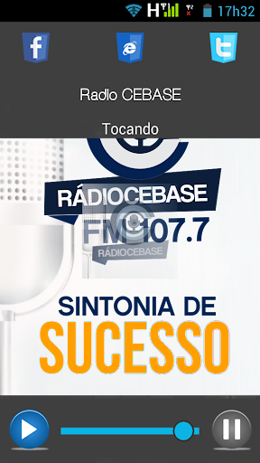 Rádio CEBASE screenshot 1