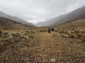 Photo: Hiking above Gavidia