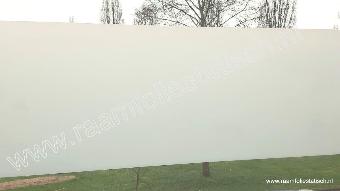 Melkglas statische raamfolie 45cm