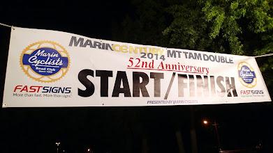 Photo: Start and Finish Banner