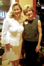 Photo: Dana Haza (wife of Music Director Emeritus Luis Haza), Marie Canny (former AYPO board member)