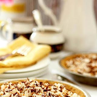 Caramel Banana and Bourbon Pie