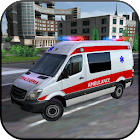 Ambulance Car Simulator 3D icon