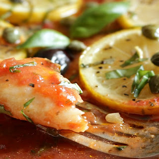 Healthy Mediterranean Baked Fish
