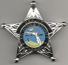 Photo: St. Johns County Sheriff, Florida, Badge