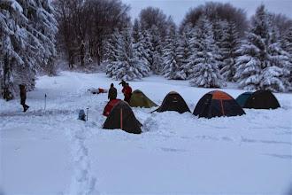 Photo: Ráno už bolo opäť zamračené a teplota iba -3,7°C