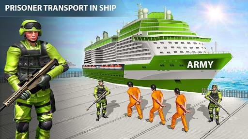 Army Criminals Transport Ship screenshots 1