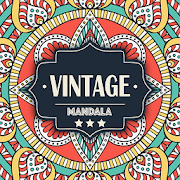 Vintage Mandala - relax pictures for adults