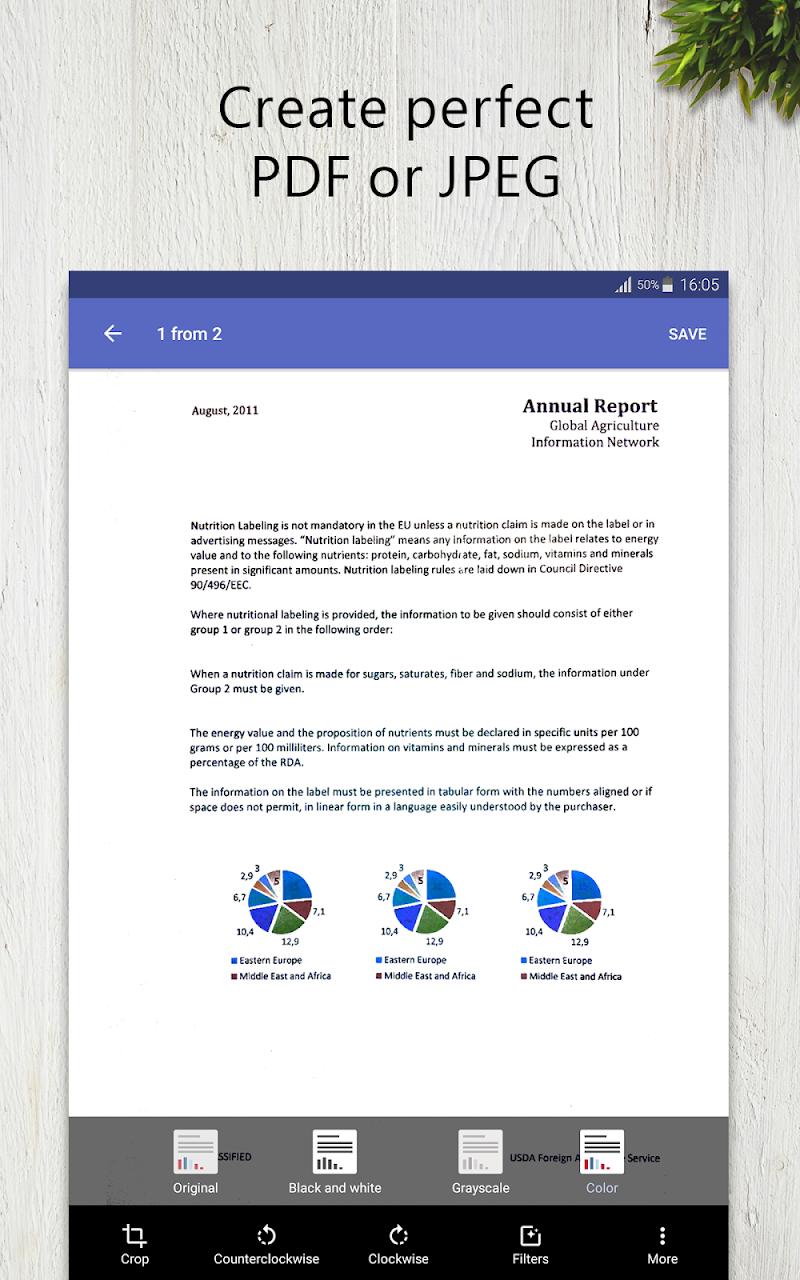 FineScanner Pro - PDF Document Scanner App + OCR Screenshot 11
