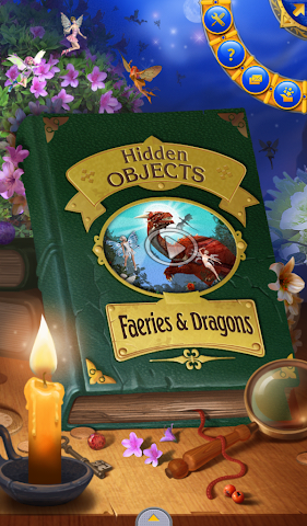 android Hidden Objects: Dragons Screenshot 0