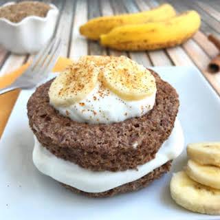 Banana Flax Muffin in a Mug.
