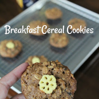 Biggerer Breakfast Cereal Cookies.