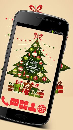 Christmas Tree Theme GO ADW