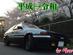 スプリンタートレノ AE86 GT-APEXのカスタム事例画像 りゅうじさんの2019年04月30日00:41の投稿