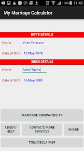My Marriage Calculator - náhled