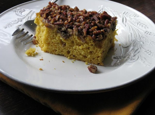 Pumpkin Cake With Crumb Topping Recipe