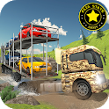 Army Car Transport Truck Driver 2019 icon