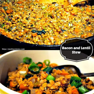 Bacon and Lentil Stew