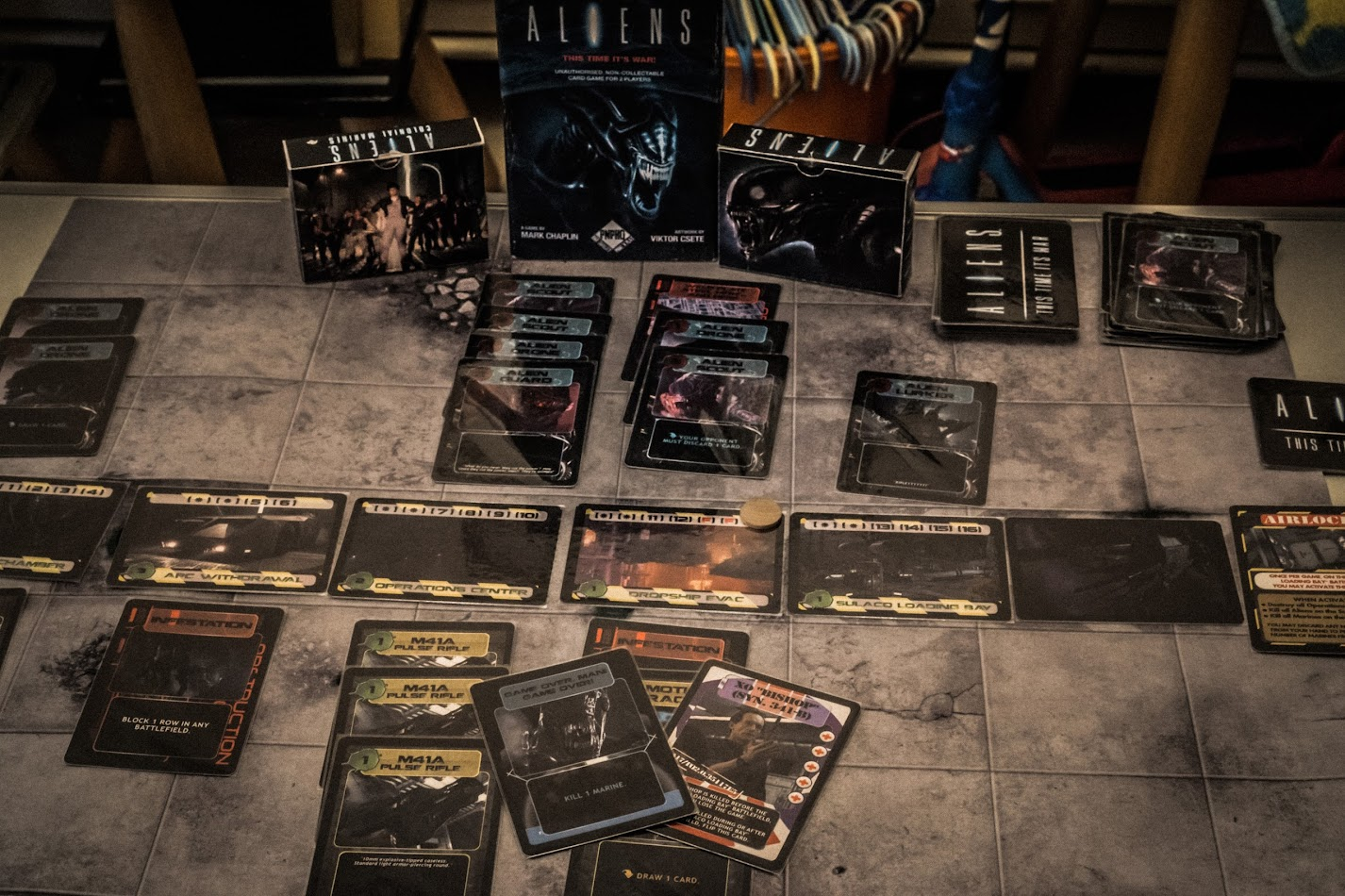 Geeklists for Aliens: This Time It\'s War | BoardGameGeek