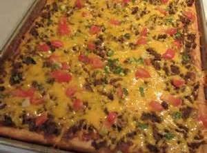 2nd Round Taco Pizza