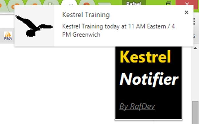 Kestrel Notifier