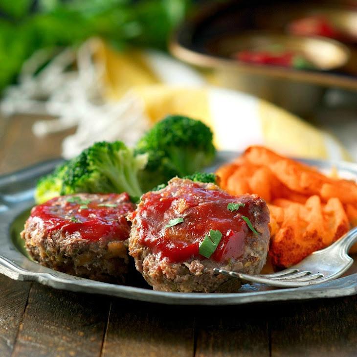 Lightened-Up Mini Meatloaf Recipe