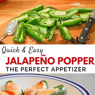Quick and Easy Jalapeño Poppers Appetizer.
