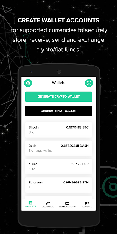 Coin Vaders™: Multi-Currency Crypto Wallet – (Android