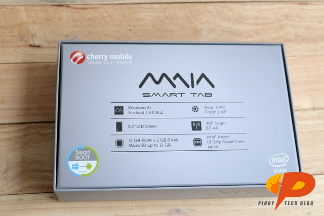 Cherry Mobile MAIA Smart Tab Review specs