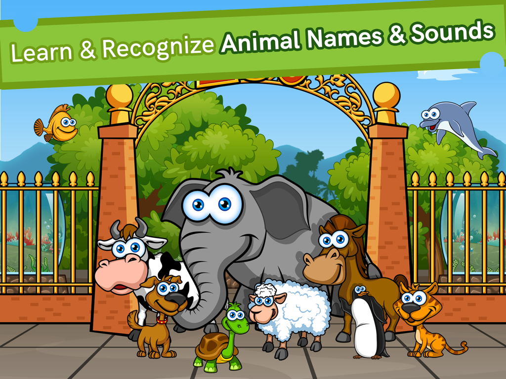 Zoolingo Free Preschool Zoo Puzzles Games Toddlers- screenshot