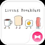 Cute Theme-Living Breakfast-