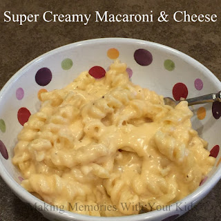 Super Creamy Macaroni and Cheese.