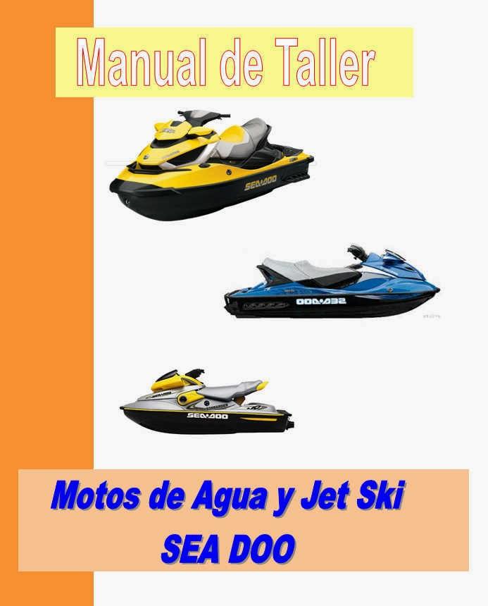 moto de agua sea doo  manual taller - servicio- mecanica y despiece