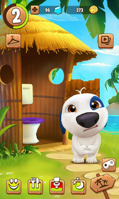 My Talking Hank Mod Apk (Unlimited Coins/Diamonds) 1