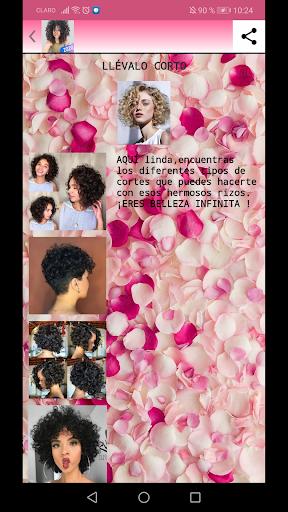 peinados afro y rizos 2020 screenshot 3